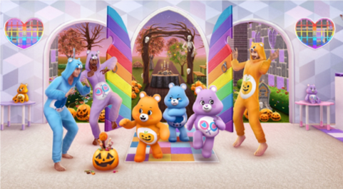 Care Bears and Sims Team up