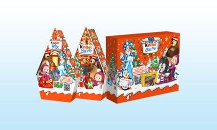 Masha and the Bear Christmas Treats
