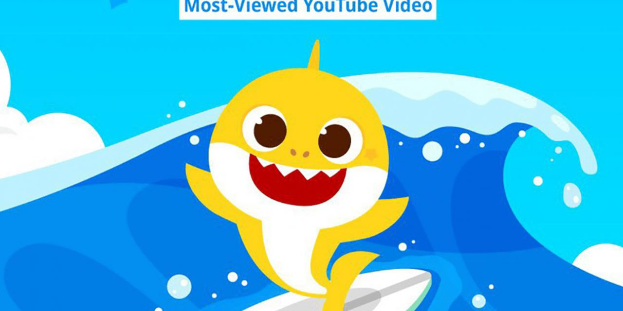 Baby Shark swims to the top of YouTube