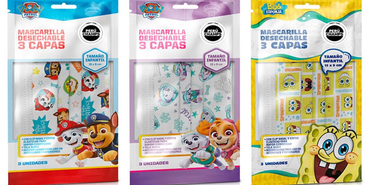 Biotec Chile create Nickelodeon facemasks