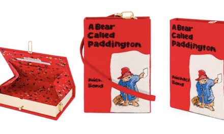 Olympia Le-Tan has launched an exclusive Paddington Clutch Bag collaboration