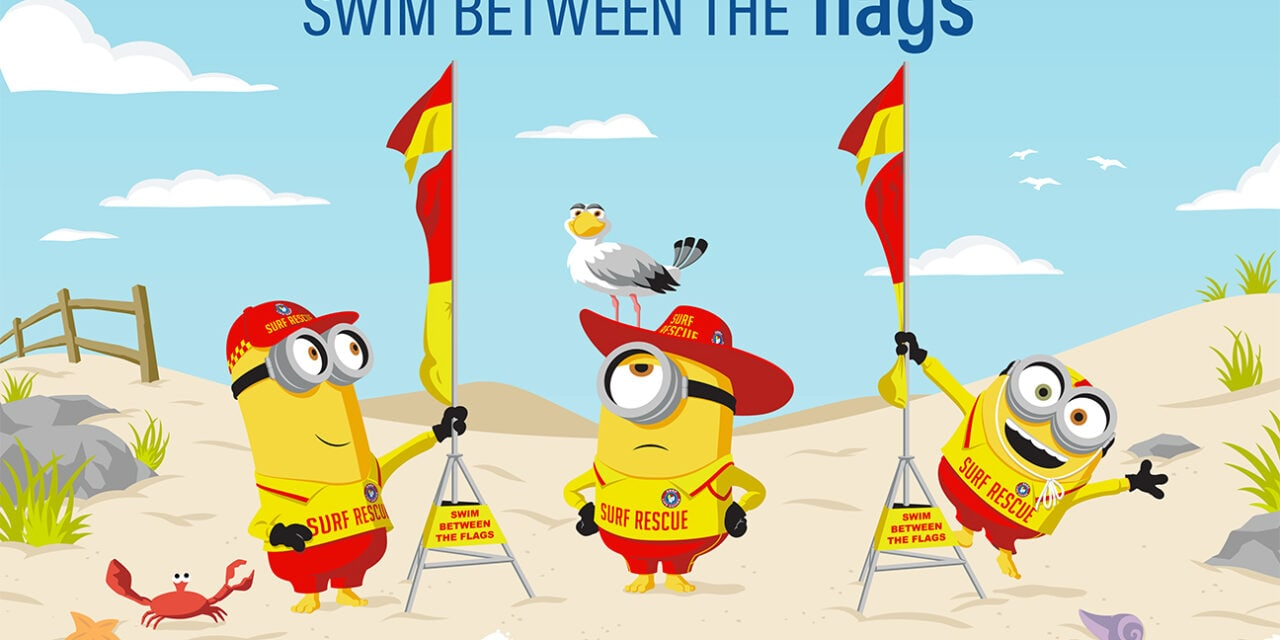 Surf Life Saving Australia partners with the Minions.