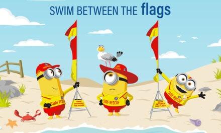 Surf Life Saving Australia partners with the Minions.