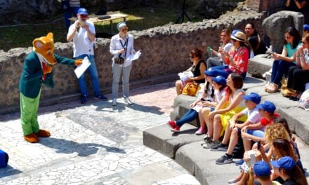 Geronimo Stilton Chossen as Virtual Guide for Pompeii