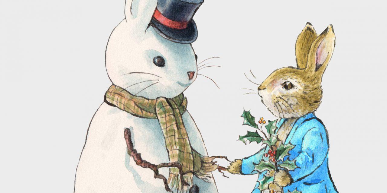 Peter Rabbit Spreading Festive Fun