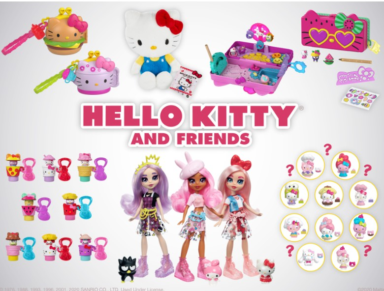Hello Kitty Announces Mattel Collection as Part of Winter Lineup
