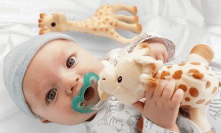 Sophie la girafe Partners with RaZbaby