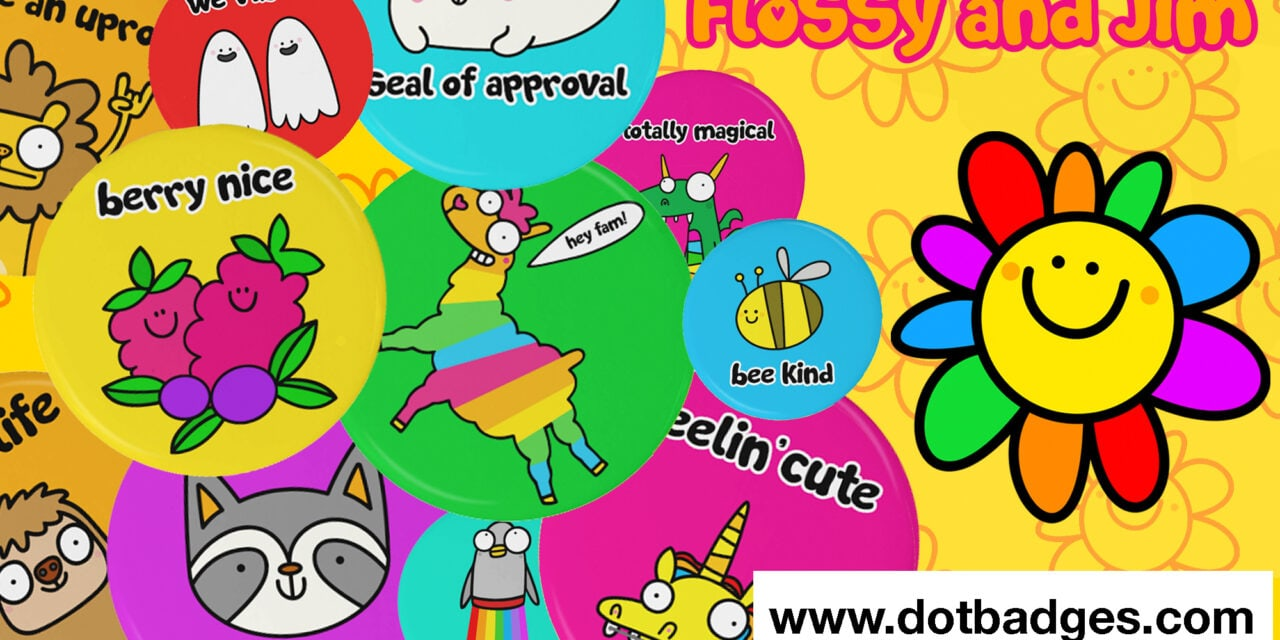 Flossy and Jim Partners with Dot Badges for launch into India