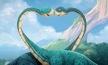 Gigantosaurus Sppreads Valentine's Cheer