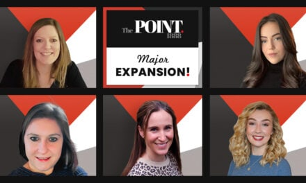 Point. completes Fifth wave of Major Expansion