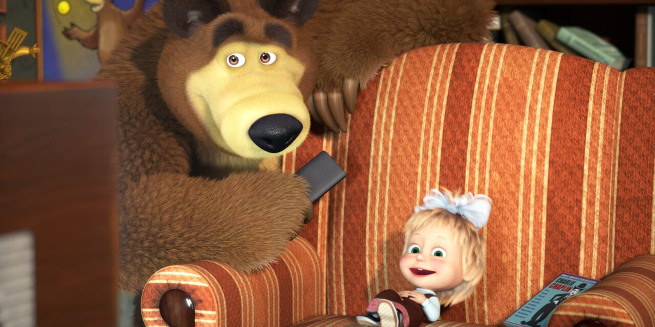 """Animaccord and Amazon Prime Video """"power up"""" new collaboration for Masha and the Bear"""