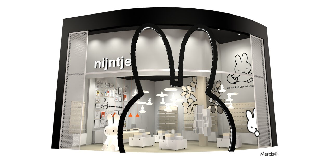 New flagship store for Miffy in Westfield Mall