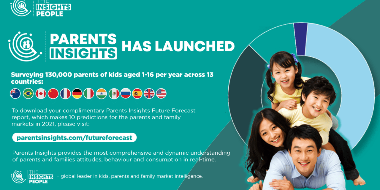 The Insights People Launches Parents Insights in 13 Countries