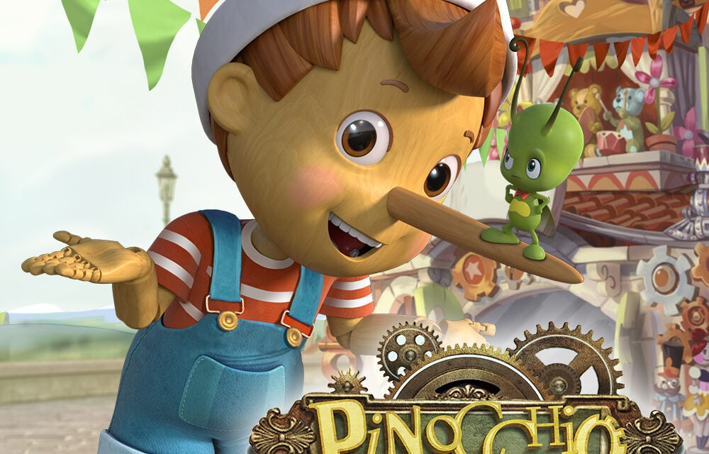 Rainbow Partners with Toonz for Pinocchio and Friends