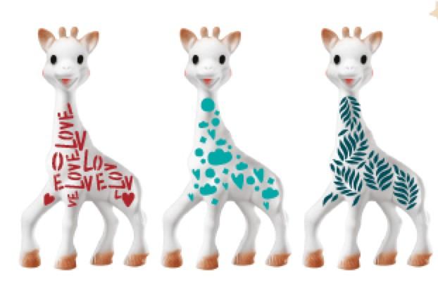 Sophie le girafe Celebrates 60 Years