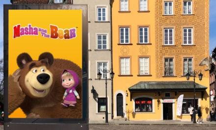 Masha and the Bear Establishing Strong Presence in Poland