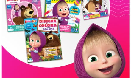Masha and the Bear albums from Edizioni Play Press Launch in Italy