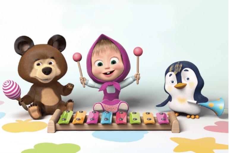 Masha and the Bear hits Mainstream in Italy