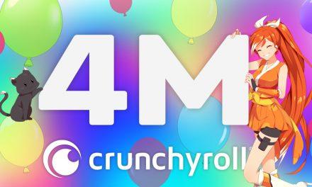 Crunchyroll Crosses Four Million Subscribers