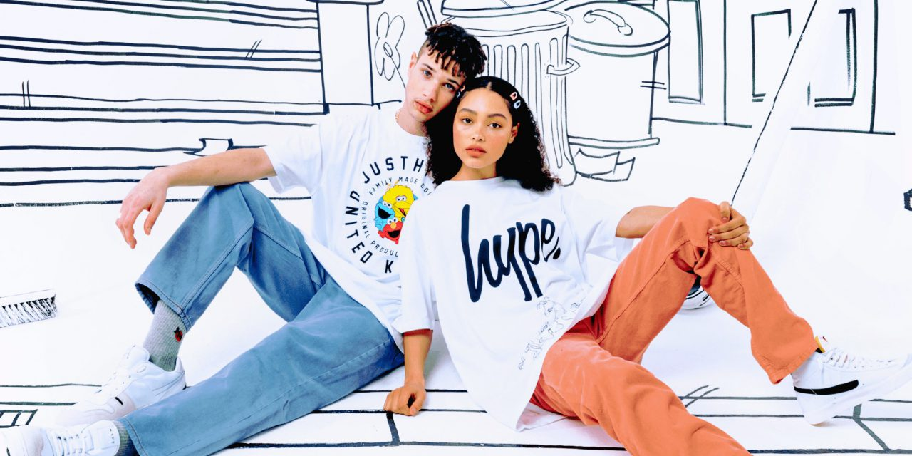 HYPE. X Sesame Street Collection Launches