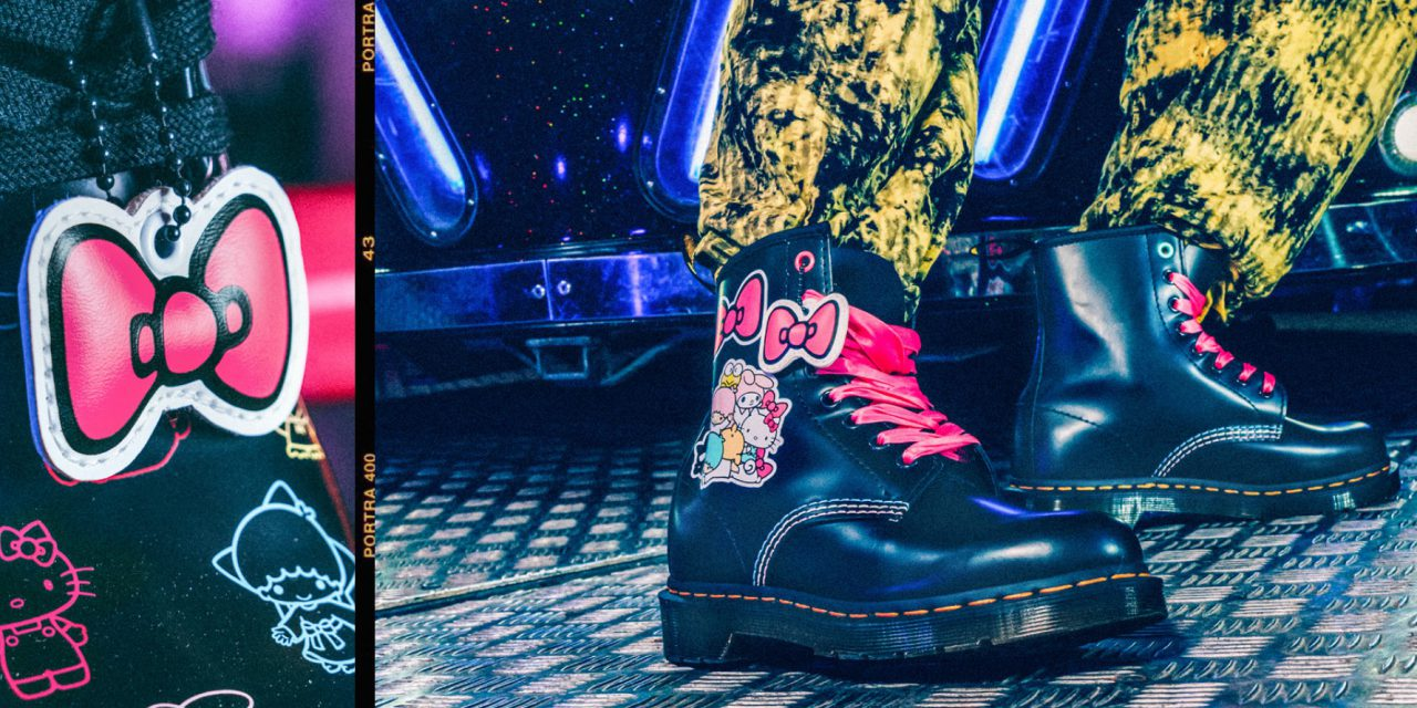 Hello Kitty Collaborates Again with Dr. Martens