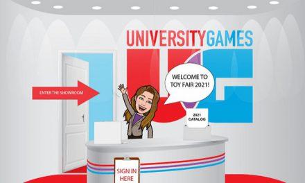 University Games Announces Virtual Showroom