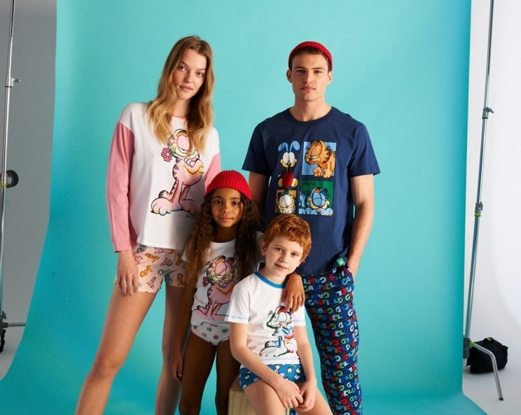 New Garfield collection Hits all Benetton stores worldwide