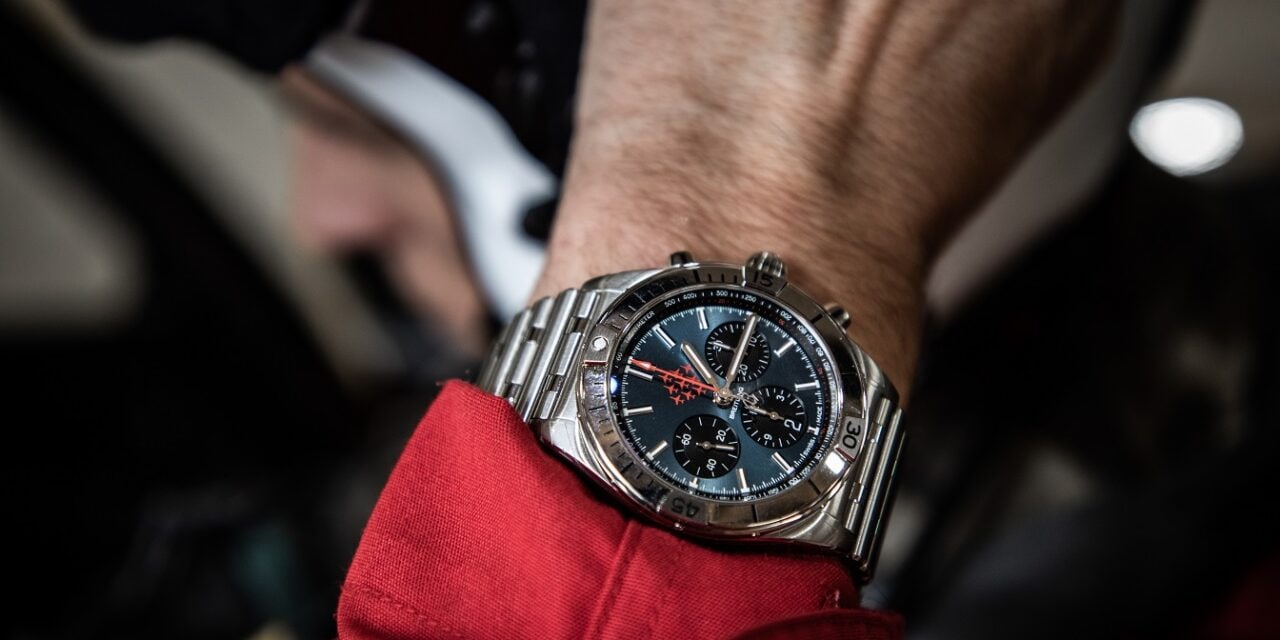 Breitling Launches Exclusive Chronomat Red Arrows Edition