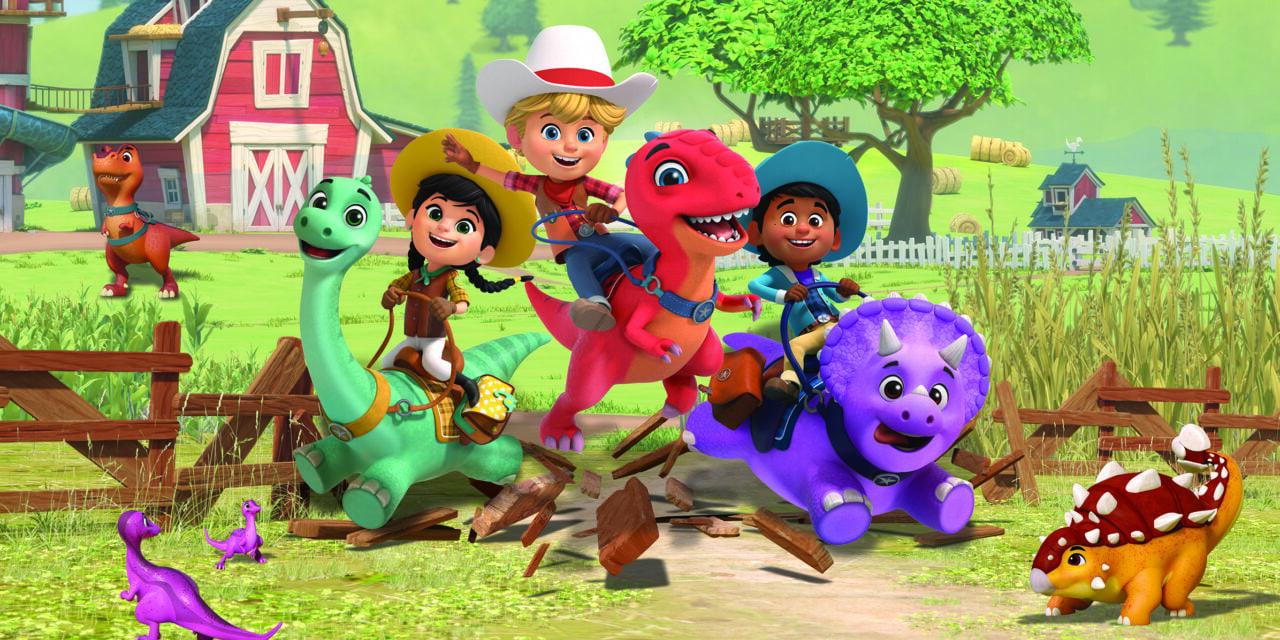 Disney+ UK, Ireland, Australia & New Zealand Saddle Up for Boat Rocker's Dino Ranch