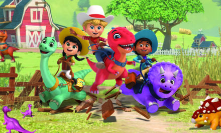 Disney+ UK, Ireland, Australia & New Zealand Saddle Up for Boat Rocker's Dino Ranch