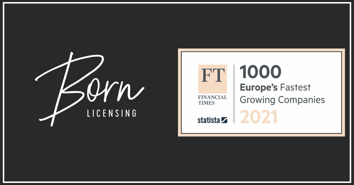 Born Licensing Features In The Financial Times FT1000 Fastest Growing Companies In Europe