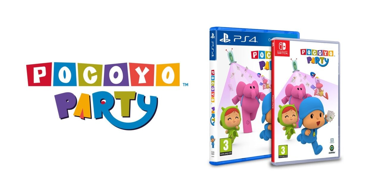 """""""Pocoyo Party"""" for PlayStation and Nintendo Switch to launch in Europe and America"""