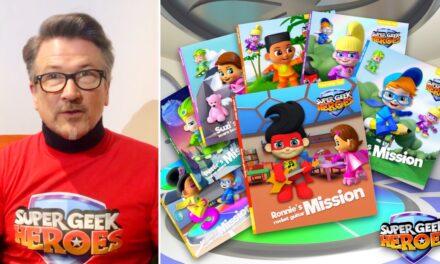 Edutainment Licensing Closes Worldwide Deals For Super Geek Heroes 'Read Aloud' Episodes to Major Digital Kids Platforms