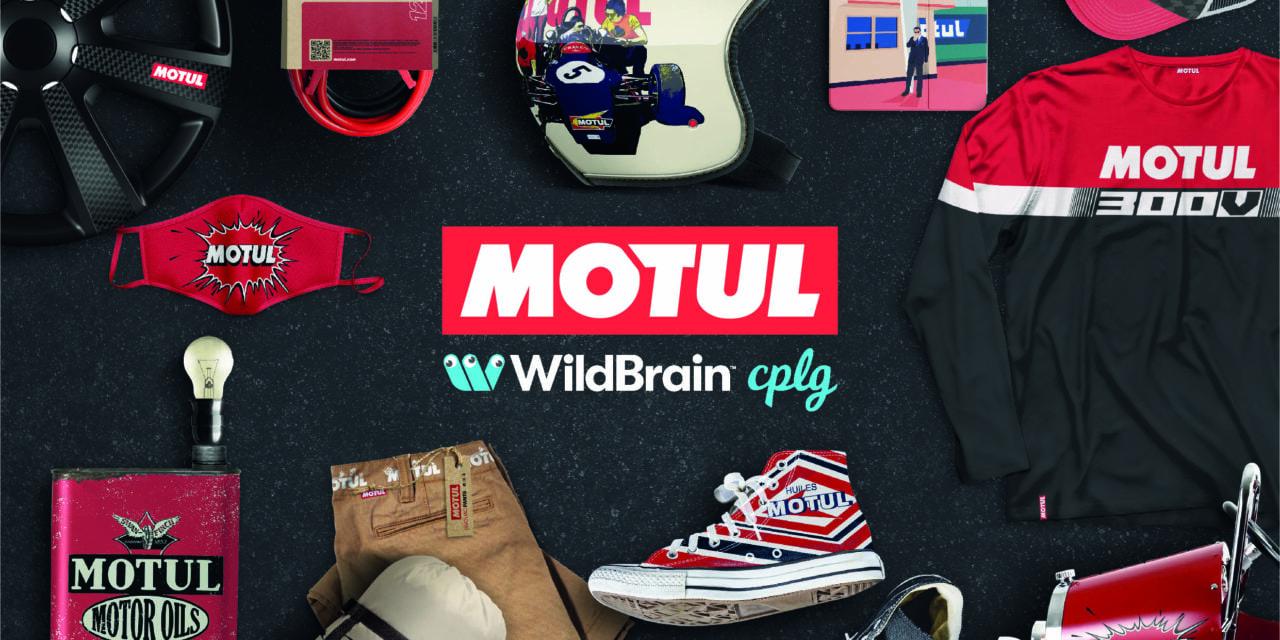 WildBrain CPLG Lifestyle Division Revs up Motul Partnership