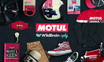 WildBrain CPLG Lifestyle Division Revs up Motul Partnership