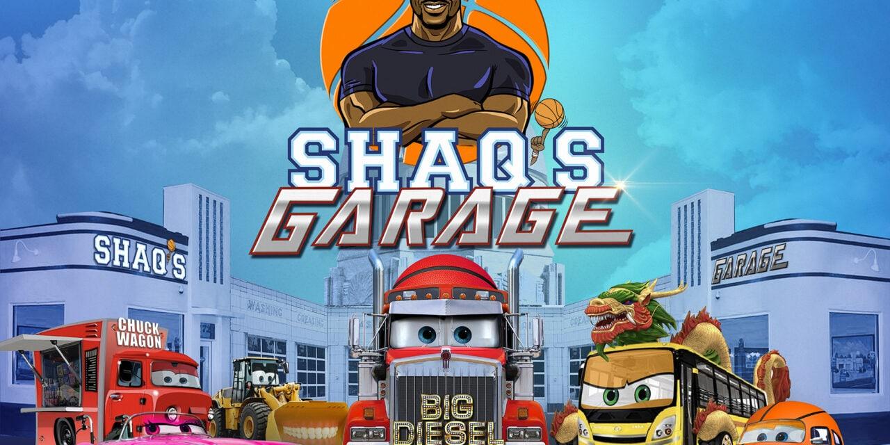 Shaq's Garage Signs Top Names
