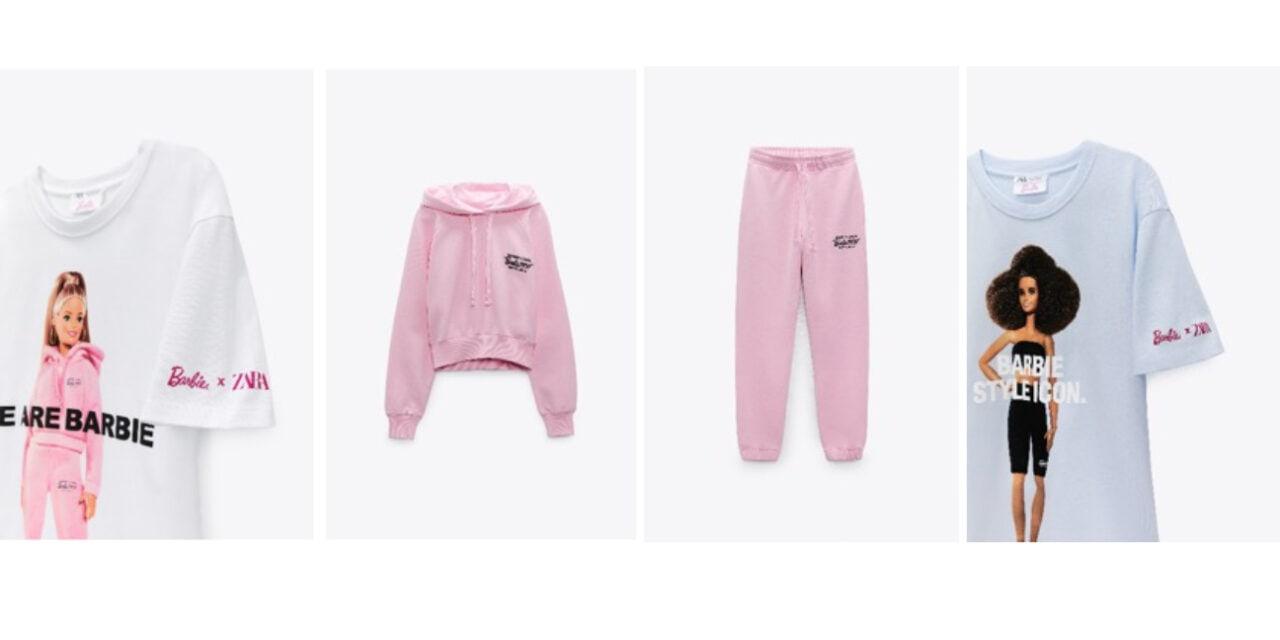 Barbie launches new range with Zara