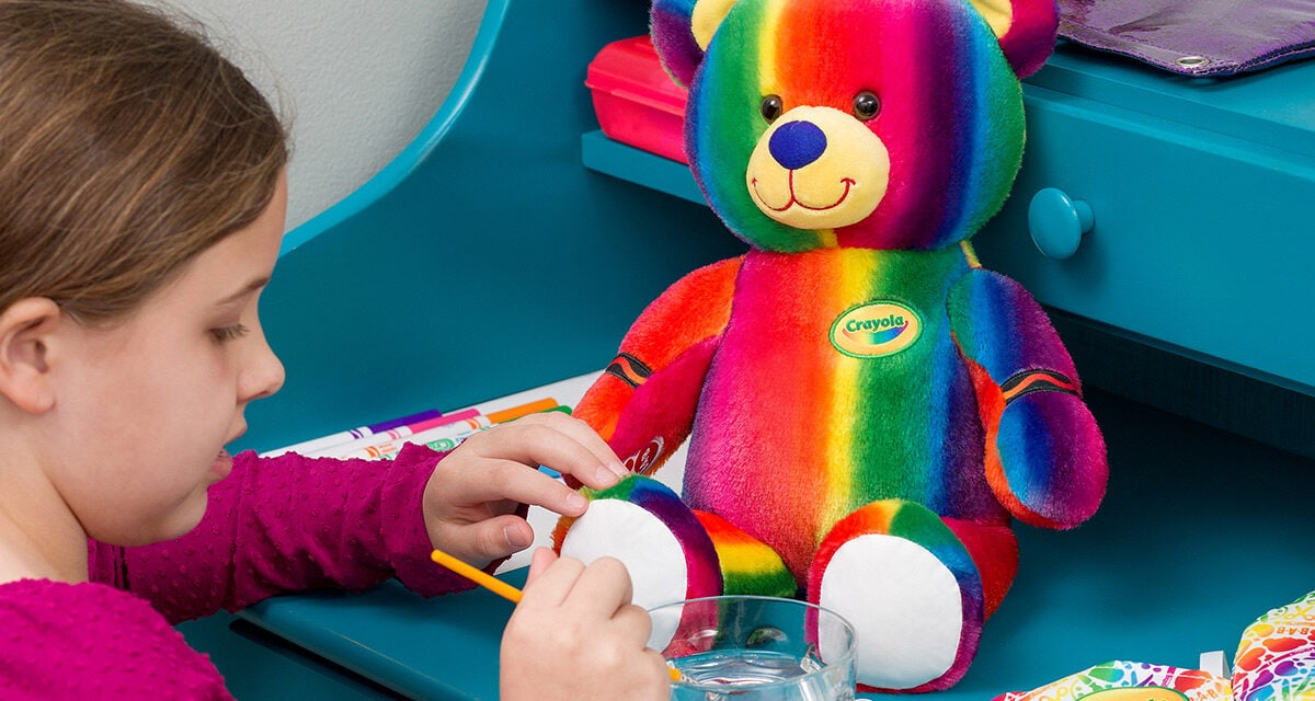 Build-A-Bear Workshop and Crayola Team up for Artists