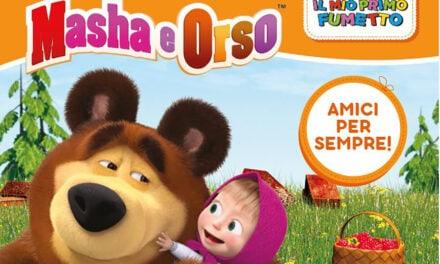 Masha and the Bear magazine and comics