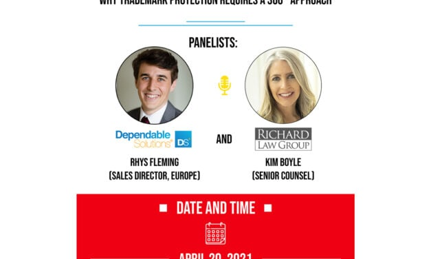 360° Approach Businesses Need for Trademark Protection, hosted by Dependable Solutions, Inc.