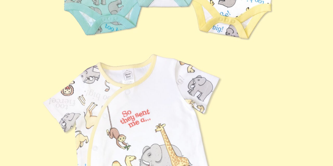Second Dear Zoo Apparel Range with Tesco Launches