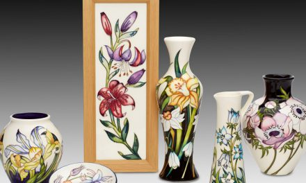 New RHS garden inspires art pottery collections