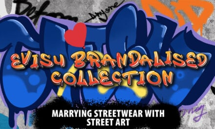 Brandalised in collab with Evisu – Graffiti in Fashion