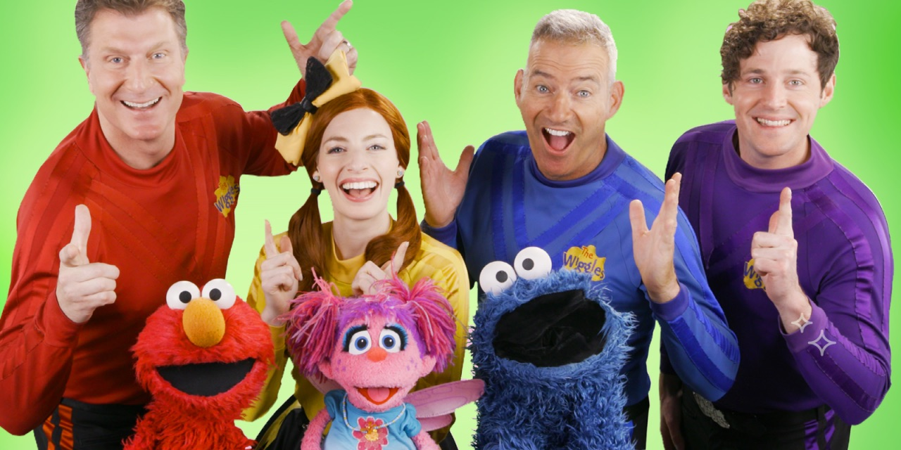Sesame Street and The Wiggles Announce a New Two-Music Video Collaboration