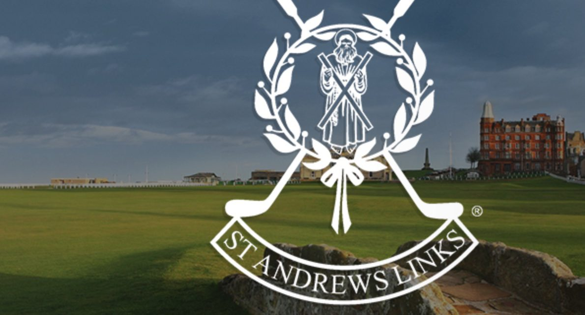 St Andrews Links Signs with The Point.1888