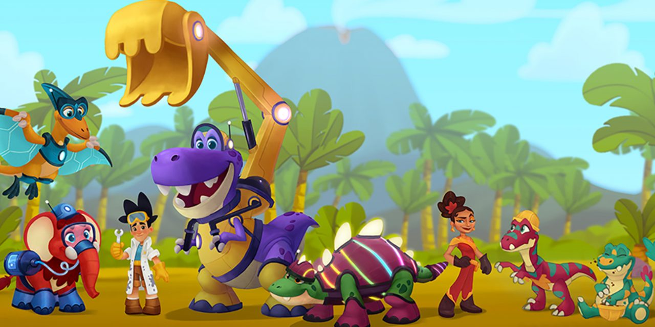 Omens Studios introduces Eddy and The Ecosaurs