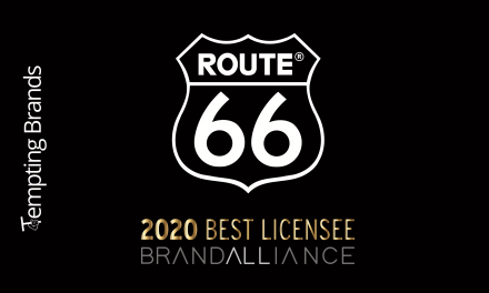 ROUTE 66 Best Licensee Award goes to Brand Alliance
