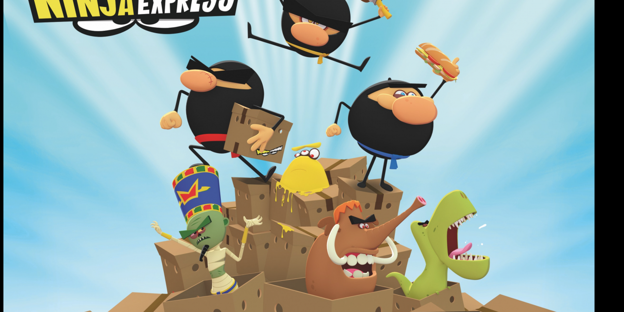 eOne Celebrates Global Launch of New Animated Comedy Series for Kids: Ninja Express