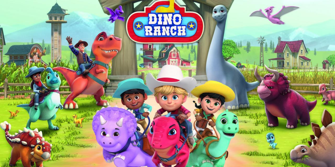 Dino Ranch Rides onto Disney+