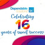 Dependable Solutions, Inc. celebrates their Sweet 16